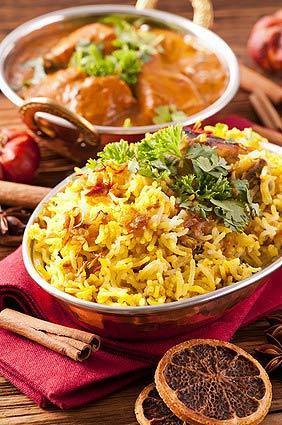 plat briani au curry