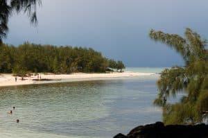 Photo d'une des plages de l'île