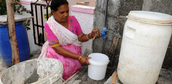 La baisse du niveau de l'eau inquiète la population