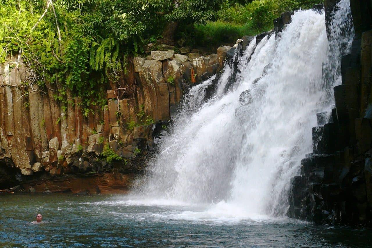 cascade de Rochester Falls à mauritius