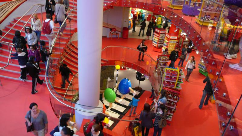Visiter le magasin M&M'S de Londres