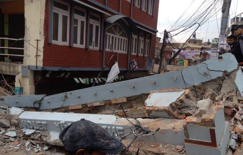 Depuis le séisme de Katmandou, la vie se reconstruit timidement