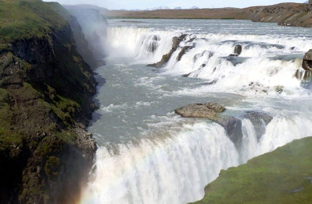 Gullfoss: les chutes d'or à visiter en Islande